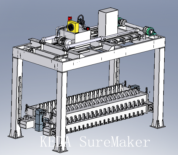 Separator for AAC products
