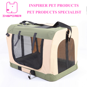 New Design Pet Steel Cage Soft Crate