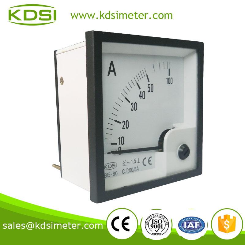 指针交流电流表be-80 ac50/5a
