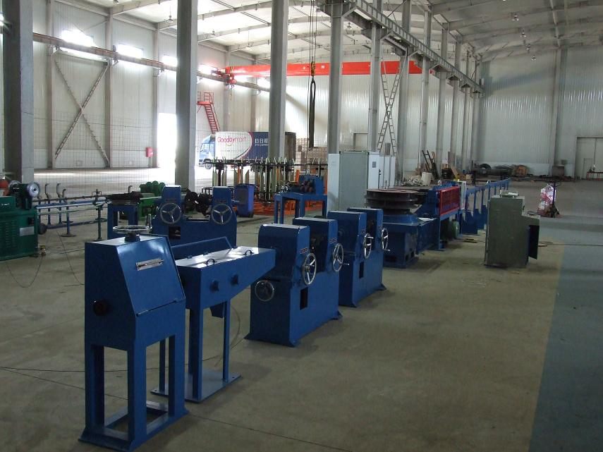 CONET cold rolling belt rib steel bar production line