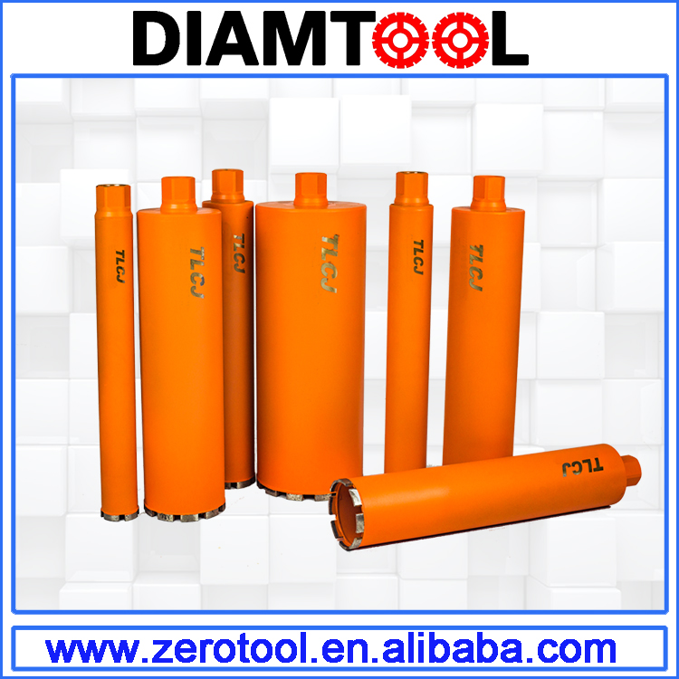 Dry or Wet Drilling Concrete Core Bits with Segment
