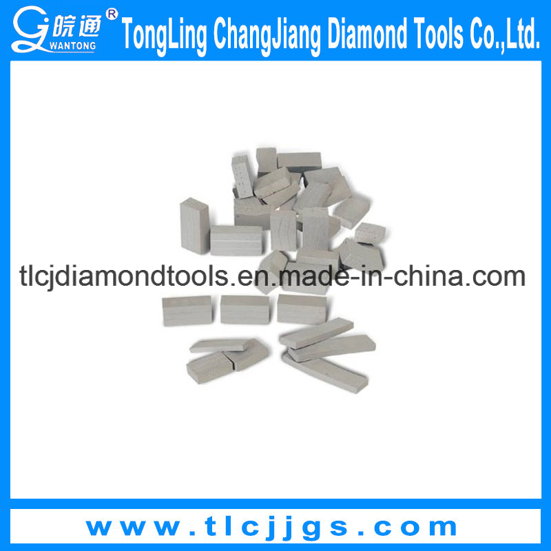 Reinforced Concrete Diamond Core Drill Bit Segment