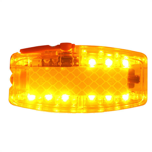 Motion Sensor Shoulder Warning Light