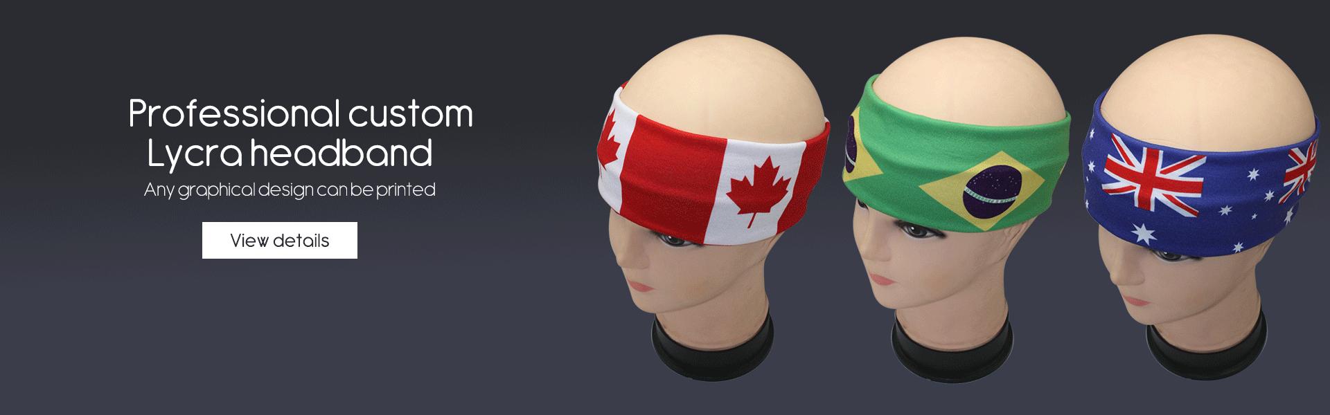 Lycra headband