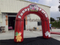 RB21047(3.5x3.5m) Inflatable Red Simple Welcome Arch For Funny Farm