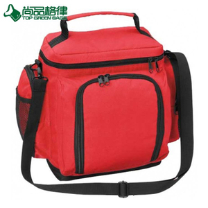 Multi Compartments Insulated Shoulder Cooler Bag Cooling Picnic Pack (TP-CB493)