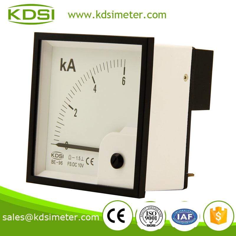 指针式直流电压表电流表 be-96 dc10v 6ka
