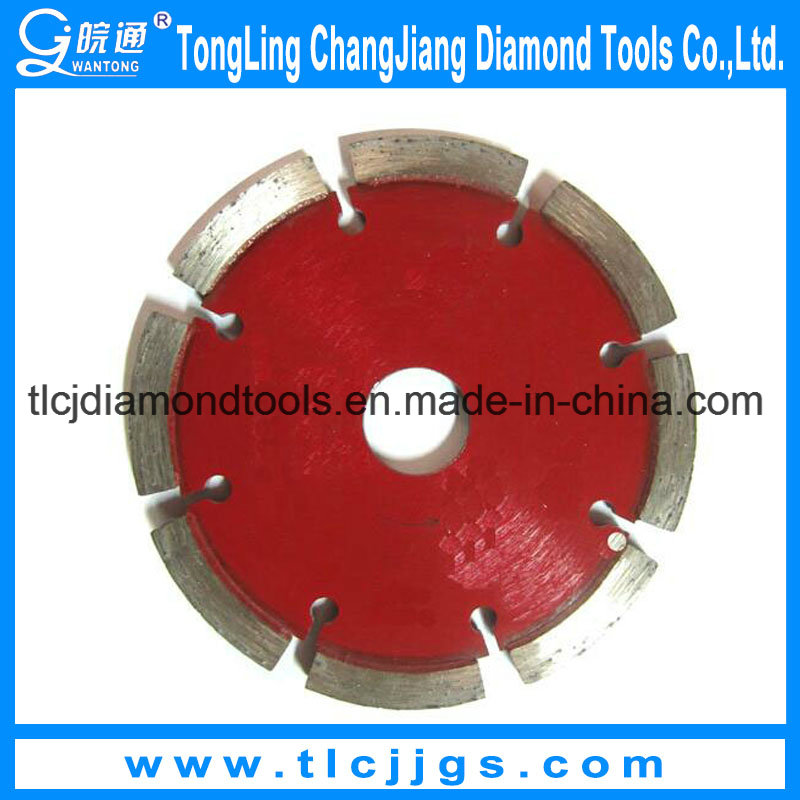 Dry Diamond Segment Saw Blade for Marble/Granite/Concrete