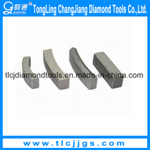 T Type Diamond Segments for Cutting Hard Granite