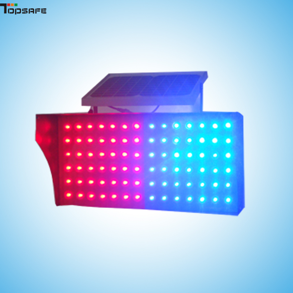 Solar LED traffic blinker