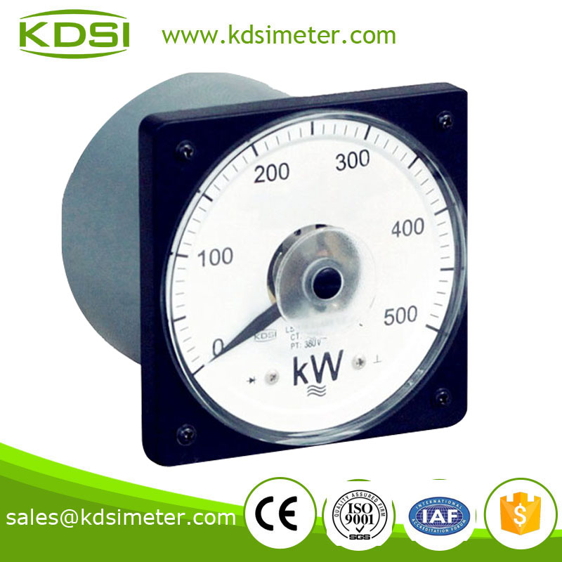 Analog Power Meter : Ac power meter analog wattmeter electronic kw
