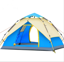 Double Layers 3-4 Person Outdoor Camping Tent