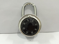 High Quality Aluminum Alloy Housing Chrome Plated Combination Dial Padlock (503A)
