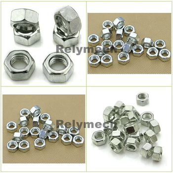 Inch/American Zinc Plated Carbon Steel Hex Nut