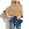 17PKCS126 2017 Knit Wool Cashmere Knitted Lady Sweater