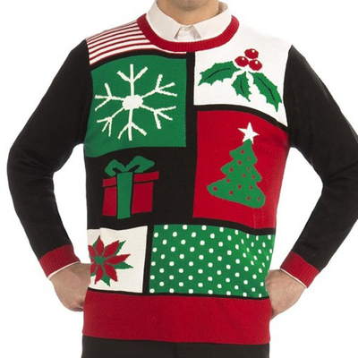 15STC8905 ugly knitted christmas sweater