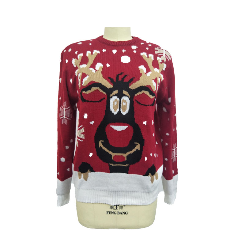 Wholesale knitted ugly christmas sweater knitting patterns