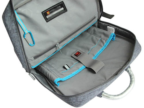 water resistant backpack laptop bag 17 inch
