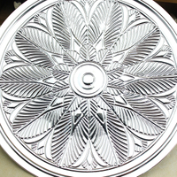 納米噴鍍工藝品盤樣品