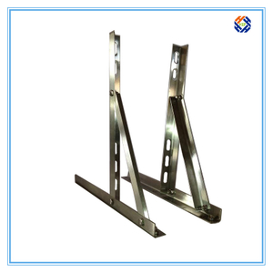 Steel galvanised air conditioner bracket
