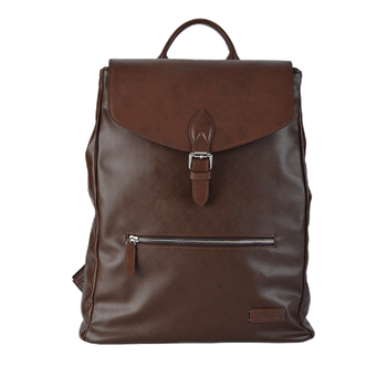 Business Classic Leather Backpack
