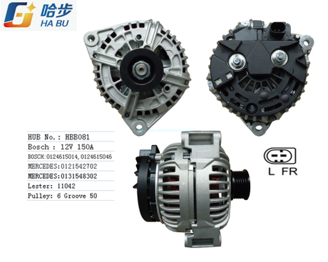 Alternator for Mercedes-Benz 12V150A ,OEM:0124615014,0121542702