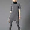 17PKCS349 Knit Wool Cashmere Knitted Lady Sweater