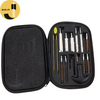 GK12 16Pcs Universal Gun Cleaning Brush Kit With Cloth Bag