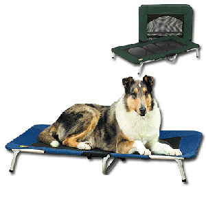 Deluxe Pet Travel Cot Metal Pet Bed