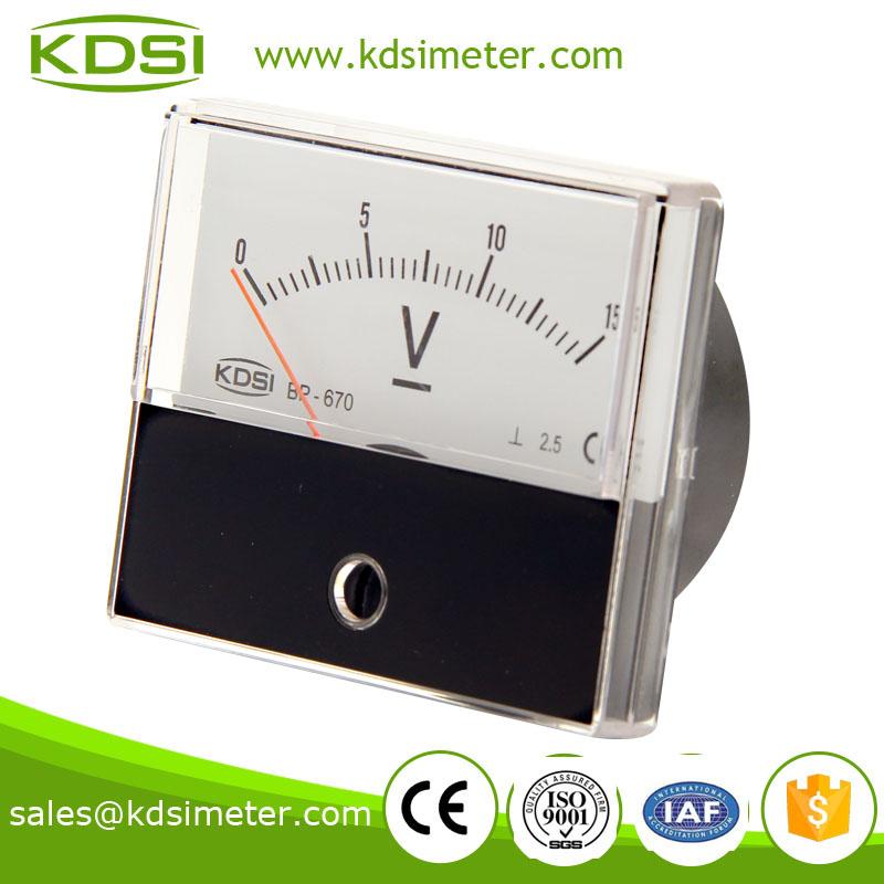 直流电压表 bp-670 dc15v