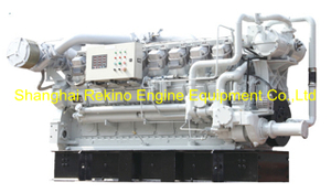 1300HP-2200HP Zichai medium speed marine diesel engine (16V170)