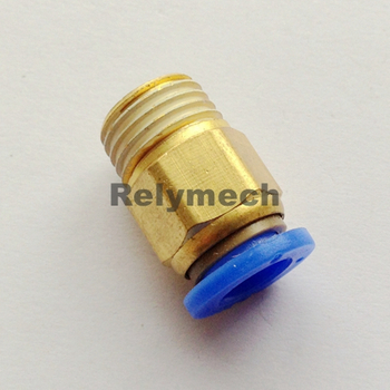 Male Pneumatic Fitting for Tube (PC4-16)