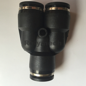 Y Reducer Pneumatic Fittings for Tube Connection (PW6-4~12-10)