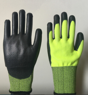 High-Viz Cut resistance gloves level 5