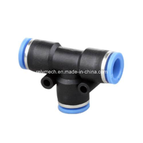 PE Union Tee Air Fitting for Pneumatic Piping