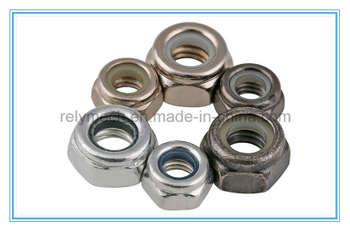 Carbon Steel Nylon Insert Hex Nut/Lock Nut