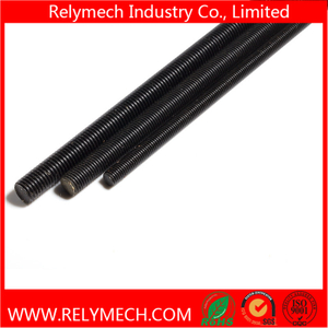 Carbon Steel Threaded Rod, Lead Screw with Blacken Treatment
