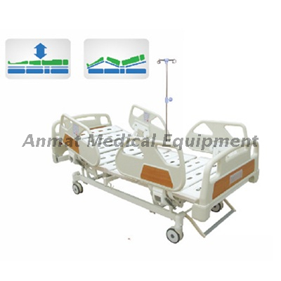 pp side rail electric adjustable icu hospital bed electric bed remote control buy electric medical bed hospital electric beds for sale abs headboard