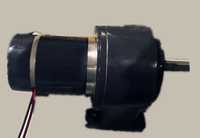 ZDSJ4-12200GU-20S-N Gear Motor with custom shaft