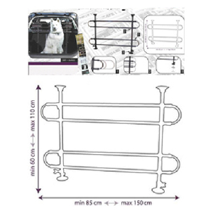 Pet Vehicle Barrier Divider