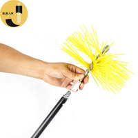 C03 Round Chimney Sweep PP Brushes(Yellow)