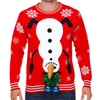 PK17CS013YF high quality holiday ugly christmas sweater christmas jumpers novelty