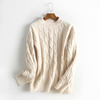 2019SS ladies wool cashmere sweater knitted turtleneck jumpers sweater for women