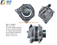 New Alternator Fits for 2006 Mitsubishi Eclipse 2.4L Lester 11095 1800A076 Mn183451 A3tg2192
