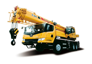 XCMG 25 ton folding knuckle boom truck crane lift QY25K5A