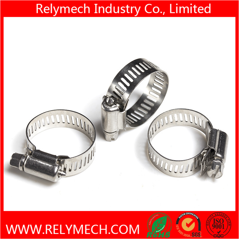 Stainless Steel American Type Hose Clamp