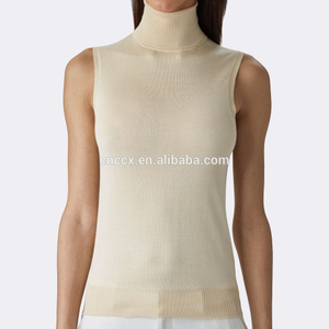 15PKTT02 2017 spring summer cashmere tank top for women