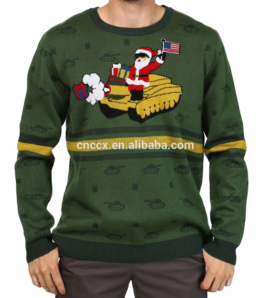 PK18ST039 unisex Jesus ugly christmas sweater