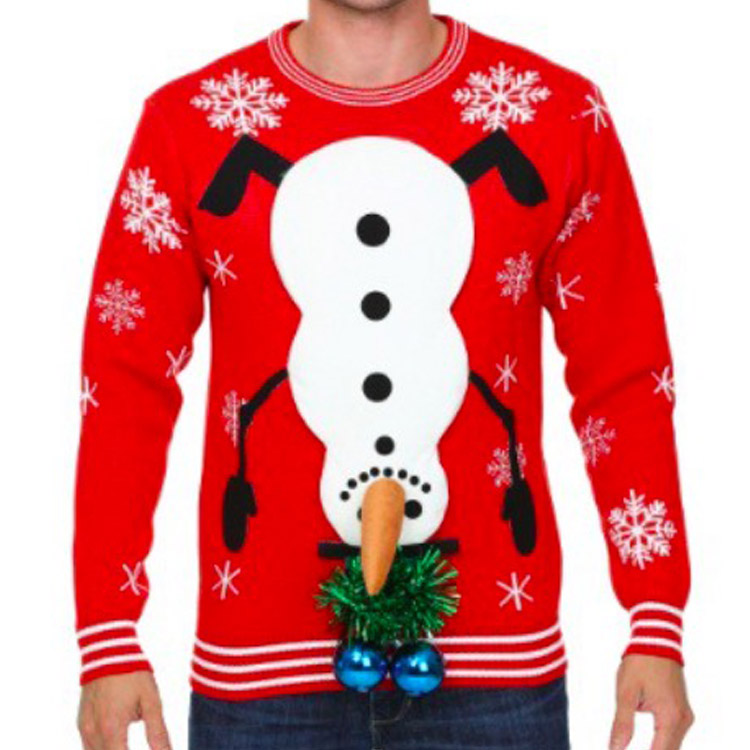 high quality ugly christmas sweater custom holliday christmas jumpers novelty unisex jumper