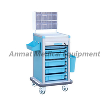 Anti-corrosion medical anesthesia trolley manufacturers